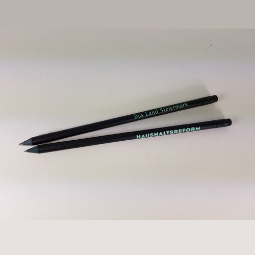 Bleistifte schwarz Holz