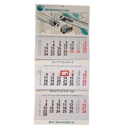 Kalender-Wandkalender Monatskalender