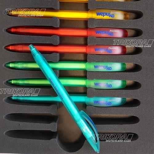 Drehkugelschreiber in verschiedenen Farben