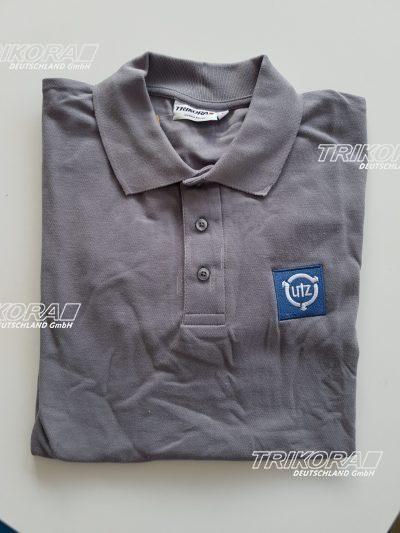 Poloshirt-grau