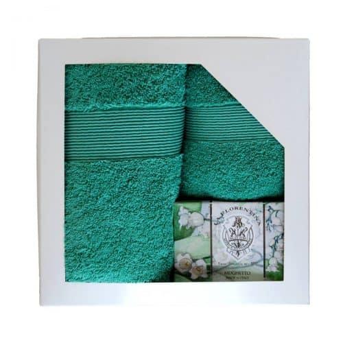 Geschenkset Handtuch mit Seife