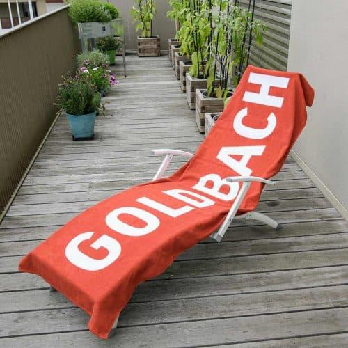 Handtuch für Liegestuhl