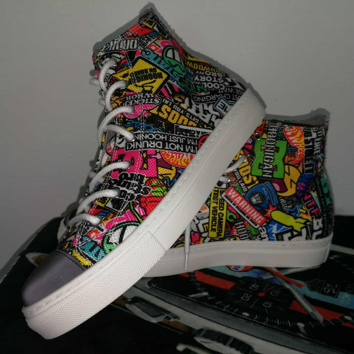 Sneakers bedruckt