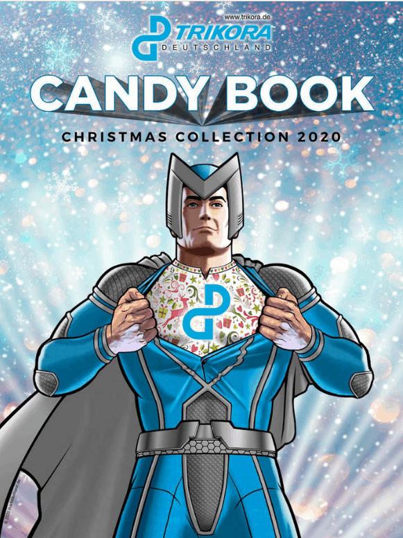 Trikora Deutschland Weihnachten 2020 Candy-Book